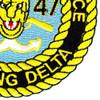 3rd Battalion 47th Infantry Regiment Mobile Riverine Force Patch | Lower Right Quadrant