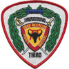 3rd Battalion 4th Marine Regiment Patch