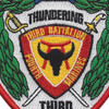 3rd Battalion 4th Marine Regiment Patch | Center Detail