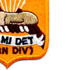 82nd Airborne Division Military Intelligence Detachment Patch   Lower Right Quadrant