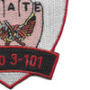 3rd Battalion 101st Aviation Calvary Regiment Patch   Lower Right Quadrant