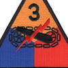 3rd Armored Division Patch | Center Detail