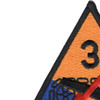 3rd Armored Division Patch | Upper Left Quadrant