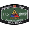 3rd Armored Division Hat Patch Spearhead
