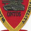 3rd Anti Tank Battalion Valor Honor Fidelity Patch | Center Detail