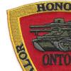 3rd Anti Tank Battalion Valor Honor Fidelity Patch | Upper Left Quadrant