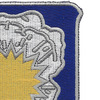 75th Cavalry Regiment Patch | Upper Right Quadrant
