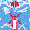 82nd Airborne Division Command & Control Patch | Center Detail