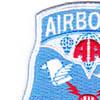 82nd Airborne Division Command & Control Patch | Upper Left Quadrant
