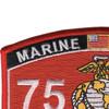 7577 Weapons & Tactics Instructor MOS Patch | Upper Left Quadrant