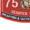 7577 Weapons & Tactics Instructor MOS Patch | Lower Left Quadrant