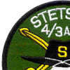 4th Battalion 3rd Aviation Cavalry Regiment S Troop Patch - Green and White | Upper Left Quadrant