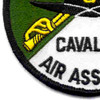 4th Battalion 3rd Aviation Cavalry Regiment S Troop Patch - Green and White | Lower Left Quadrant