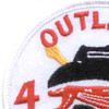 4th Battalion 3rd Aviation Cavalry Regiment Patch Outlaw   Upper Left Quadrant