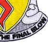 827th Tank Battalion Patch | Lower Right Quadrant