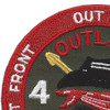 4th Battalion 3rd Aviation Cavalry Regiment Patch Hook And Loop | Upper Left Quadrant