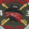 4th Battalion 3rd Aviation Cavalry Regiment Patch Hook And Loop | Center Detail