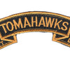 4th Battalion 23rd Infantry Regiment Tomahawks Scroll Patch Hook And Loop | Center Detail