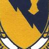 828th Tank Destroyer Battalion Patch Audacia Et Industria   Center Detail