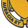 828th Tank Destroyer Battalion Patch Audacia Et Industria   Lower Left Quadrant