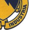 828th Tank Destroyer Battalion Patch Audacia Et Industria   Lower Right Quadrant