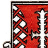 823rd Engineer Battalion Patch African American Unit   Upper Left Quadrant