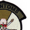 2nd Squadron 6th Aviation Attack Air Cavalry Regiment Company C Skull Patch OD | Upper Right Quadrant