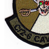 2nd Squadron 6th Aviation Attack Air Cavalry Regiment Company C Skull Patch OD | Lower Left Quadrant