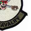 2nd Squadron 6th Aviation Attack Air Cavalry Regiment Company C Skull Patch OD | Lower Right Quadrant