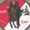 2nd Squadron 6th Aviation Regiment Delta Troop Patch Hook And Loop | Center Detail