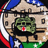 2nd Squadron 149th Aviation Regiment C Company Patch | Center Detail