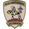 2nd Squadron 159th Aviation Attack Recon Battalion B Company Patch | Center Detail