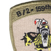 2nd Squadron 159th Aviation Attack Recon Battalion B Company Patch | Upper Right Quadrant