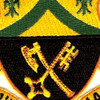 81st Armored Cavalry Regiment Patch   Center Detail