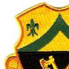 81st Armored Cavalry Regiment Patch   Upper Left Quadrant