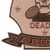 2nd Reconnaissance Battalion Desert Patch | Lower Left Quadrant
