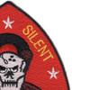 2nd Reconnaissance Battalion Patch Swift Silent Deadly | Upper Right Quadrant