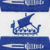 2nd Ranger Battalion Patch | Center Detail