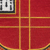 81st Airborne Field Artillery Battalion Patch   Center Detail