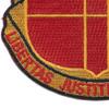 81st Airborne Field Artillery Battalion Patch   Lower Left Quadrant