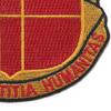 81st Airborne Field Artillery Battalion Patch   Lower Right Quadrant