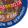 2nd Military Intelligence Battalion Detachment D Patch | Lower Right Quadrant