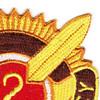 2nd Medical Brigade Patch   Upper Right Quadrant