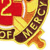 2nd Medical Brigade Patch   Lower Right Quadrant