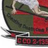 2nd Battalion 135th Aviation Regiment C Company Patch   Lower Left Quadrant