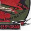 2nd Battalion 135th Aviation Regiment C Company Patch | Lower Right Quadrant