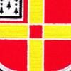 81st Airborne Anti-Aircraft Artillery Battalion Flash Patch | Center Detail