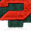 2nd Army Patch | Center Detail