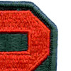 2nd Army Patch | Upper Right Quadrant