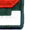 2nd Army Patch | Lower Right Quadrant